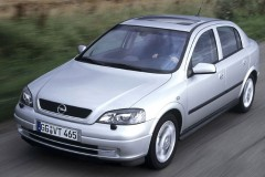 Opel Astra Hečbeks 1998 - 2004 foto 2